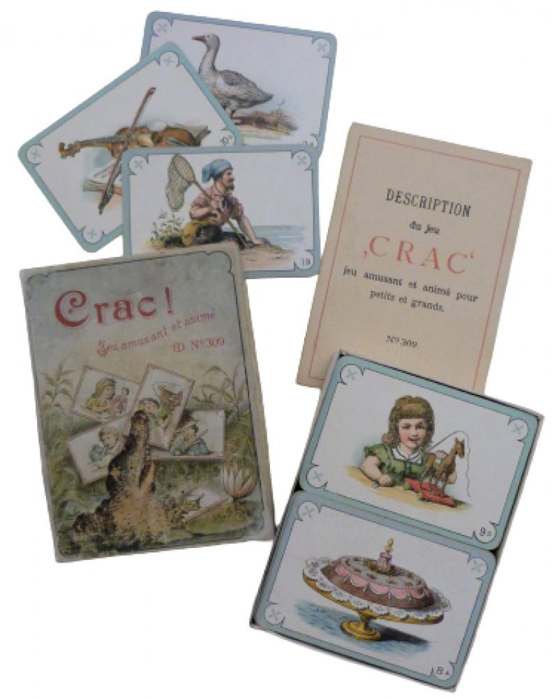 Crac! Jeu amusant et animé. Parigi, Carl e Paul Dondorf, 1890 circa.