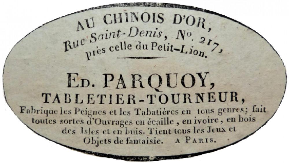 Jeu de Loto Dauphin. Parigi, fine XVIII secolo.