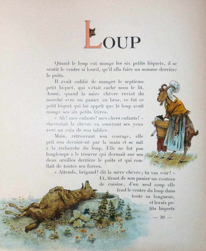 Lemaitre, Jules - Job (Jacques Onfroy de Bréville). A B C. Tours, maison Alfred Mame et Fils, 1919.