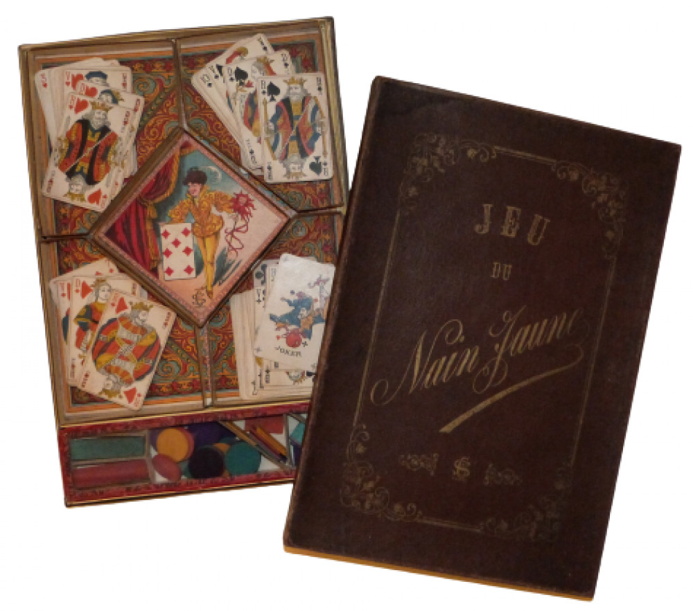 Gioco d'azzardo - Jeu du Nain Jaune. Parigi, 1890.