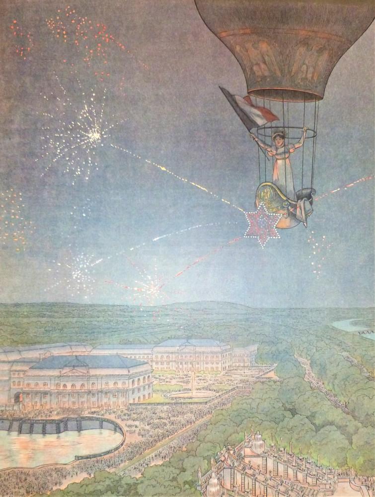Montorgueil, Georges - Job (Jacques Onfroy de Bréville). Napoléon. Parigi, Bovin & C., 1921.
