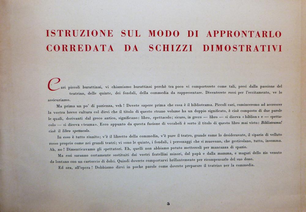 Teatrino - Merlino e Melissa. La leggenda di Amer Biblioteama. Milano,  Edizioni S.A.D.E.L., s.d. (1950 circa).