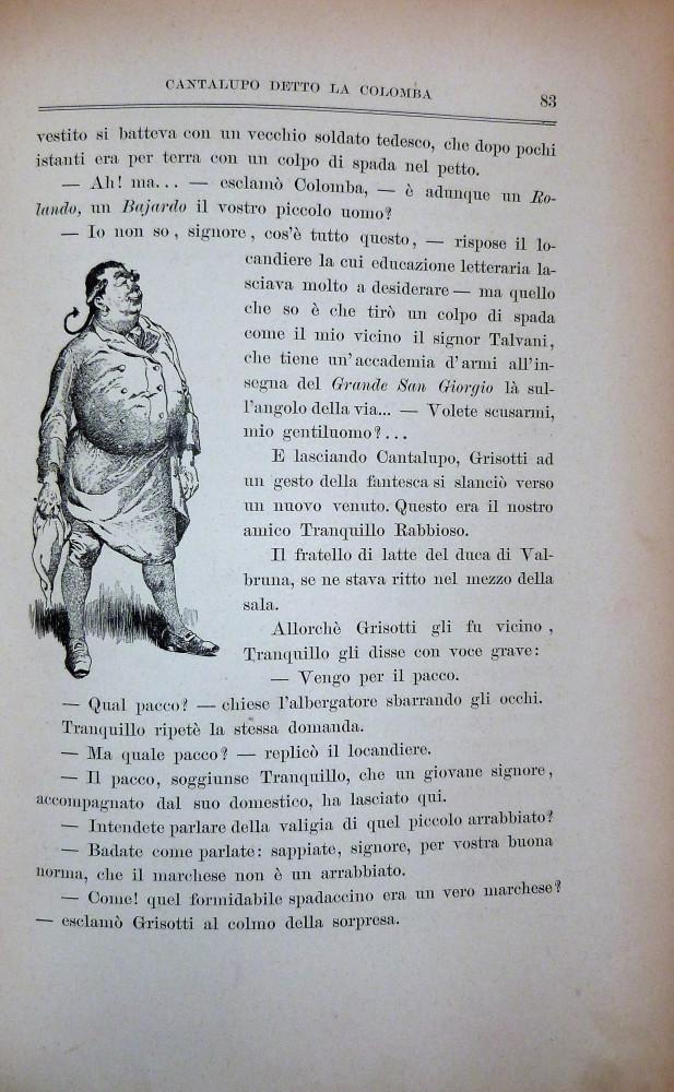 Brisay, Enrico De - Salgari, Enrico - Job  (Jacques Onfroy de Bréville). Spada al vento. Torino, G. B. Paravia & C., s.d. (1895).