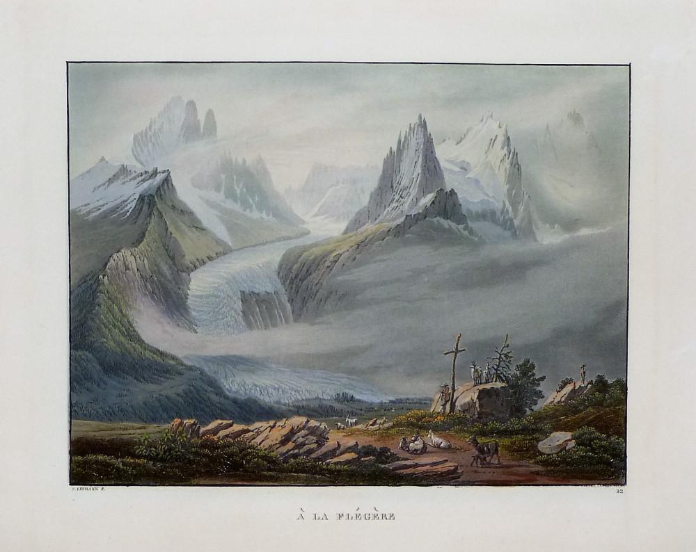 À la Flégère. Basilea, Samuel Birmann, 1826.