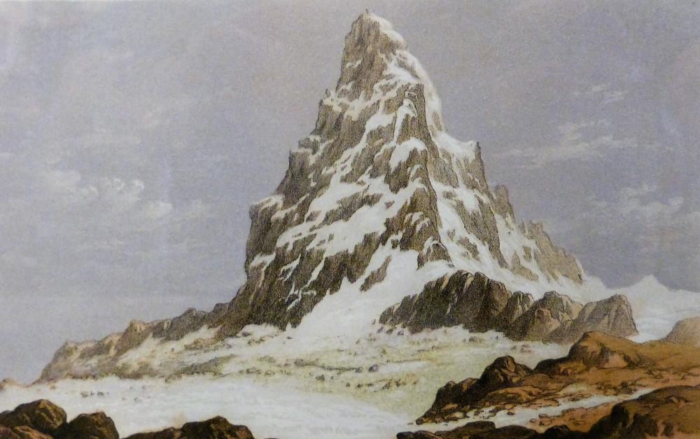 The Matterhorn. Londra, Day & Son, 1857.