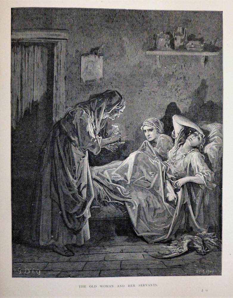 La Fontaine, Jean de - Doré, Gustave. The fables. Londra - Parigi - New York, Cassel - Peter - Galpin, 1880 circa.