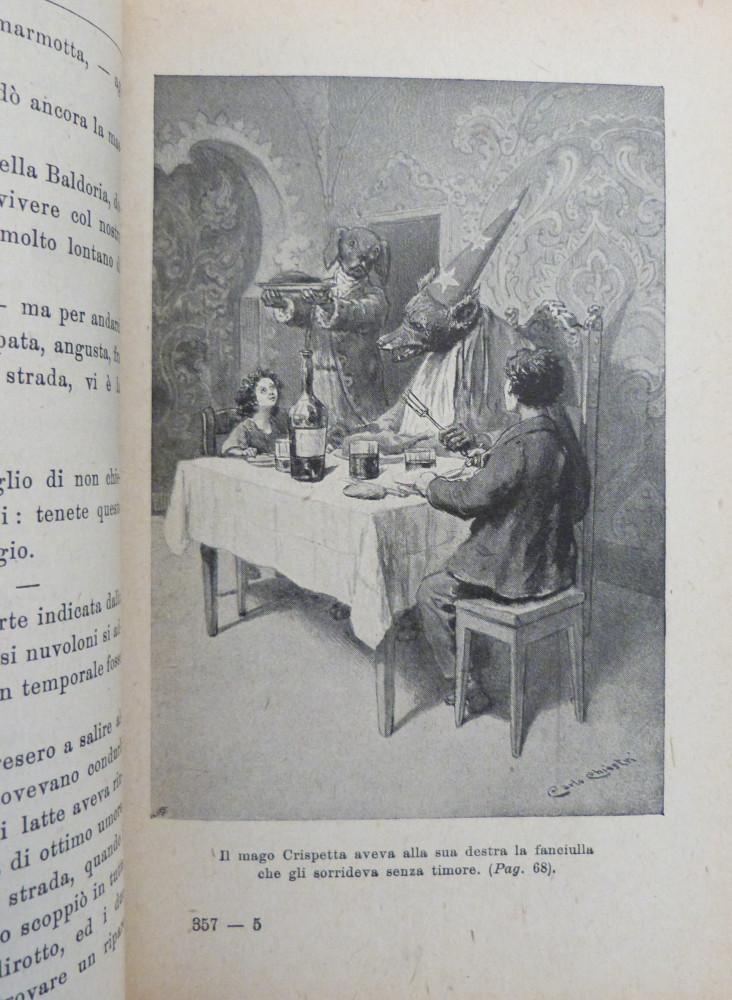 Invernizio, Carolina. I sette capelli d'oro della Fata Gusmara. Firenze, Adriano Salani, s.d. (1926).