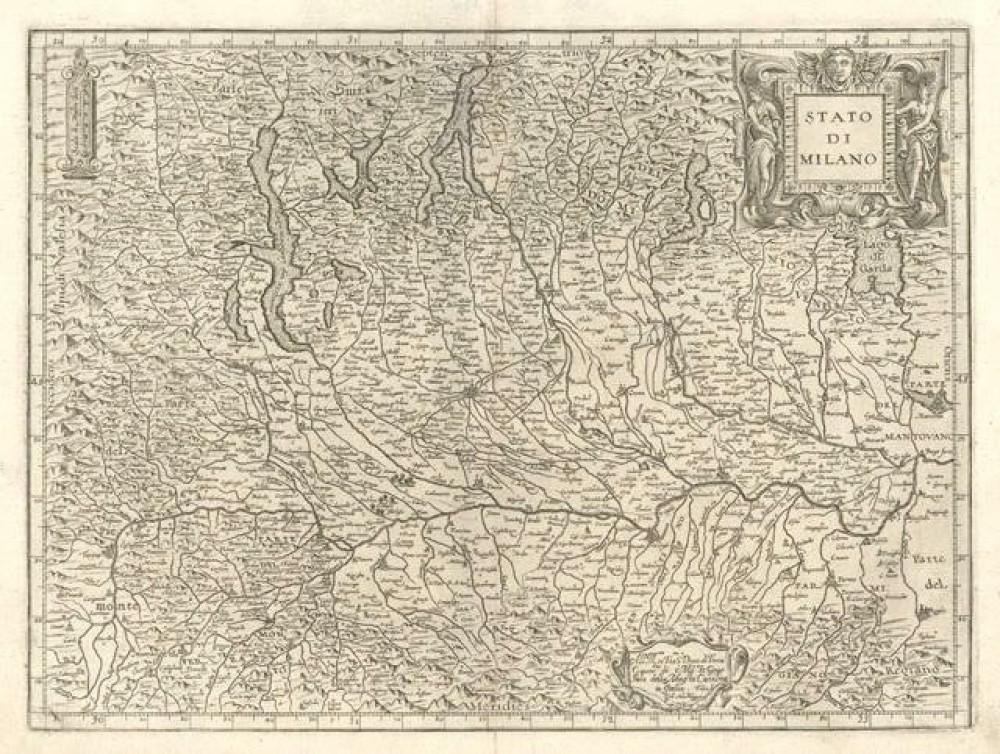 Stato di Milano. Bologna, Fabio Magini, 1620.